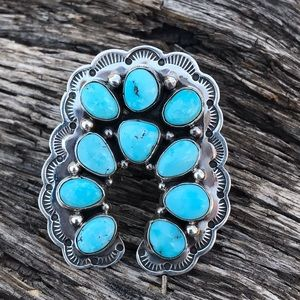 Navajo Sterling Royston Turquoise Ring Sz 6.5